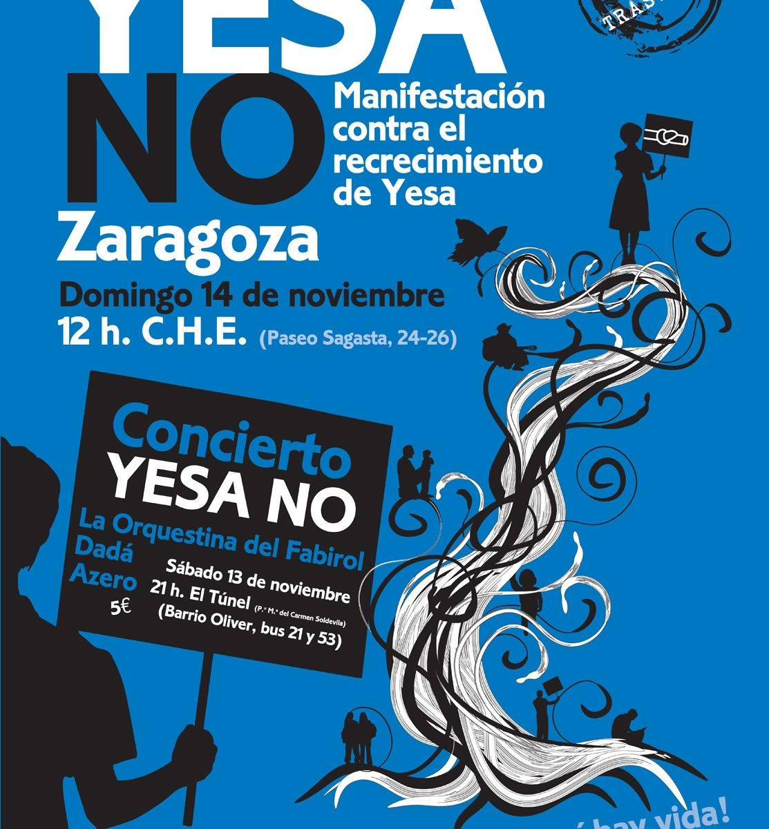 14N MANIFESTACION YESA NO